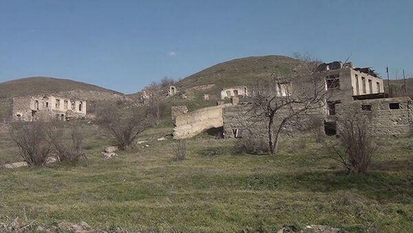 Qubadlı rayonunun Əfəndilər kəndi - Sputnik Азербайджан