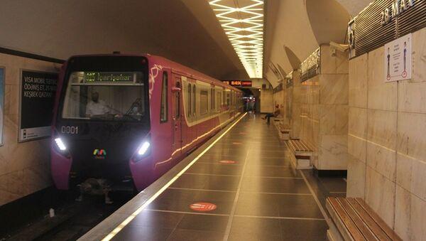 Бакинское метро, фото из архива - Sputnik Азербайджан