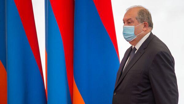 Президент Армен Саркисян , (21 сентября 2020). Еревaн - Sputnik Azərbaycan