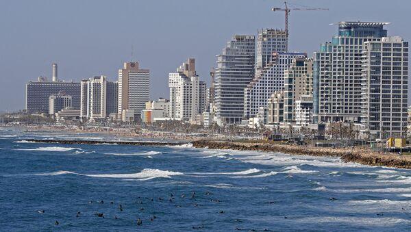 Вид на Тель-Авив, фото из архива - Sputnik Азербайджан