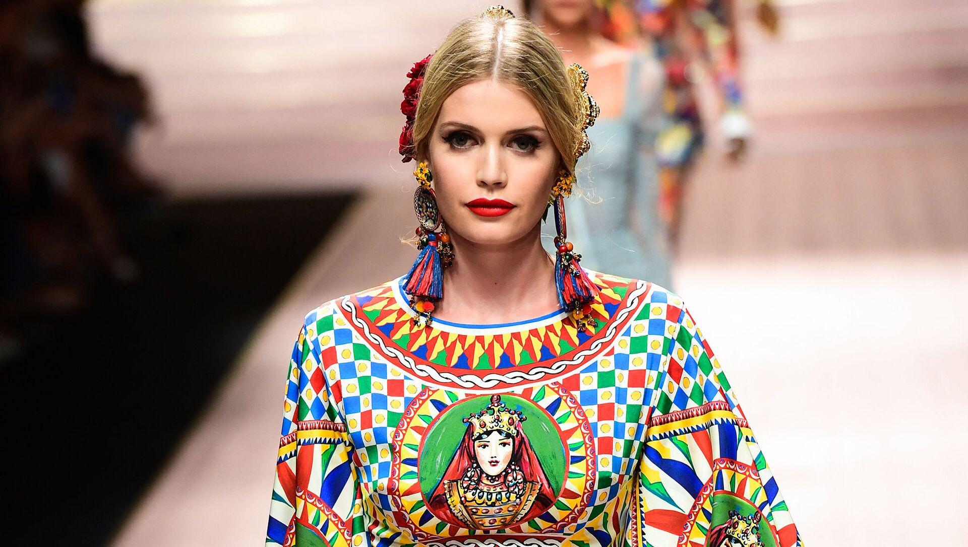 Племянница принцессы Дианы Китти Спенсер стала лицом Dolce & Gabbana  - Sputnik Азербайджан, 1920, 01.03.2021