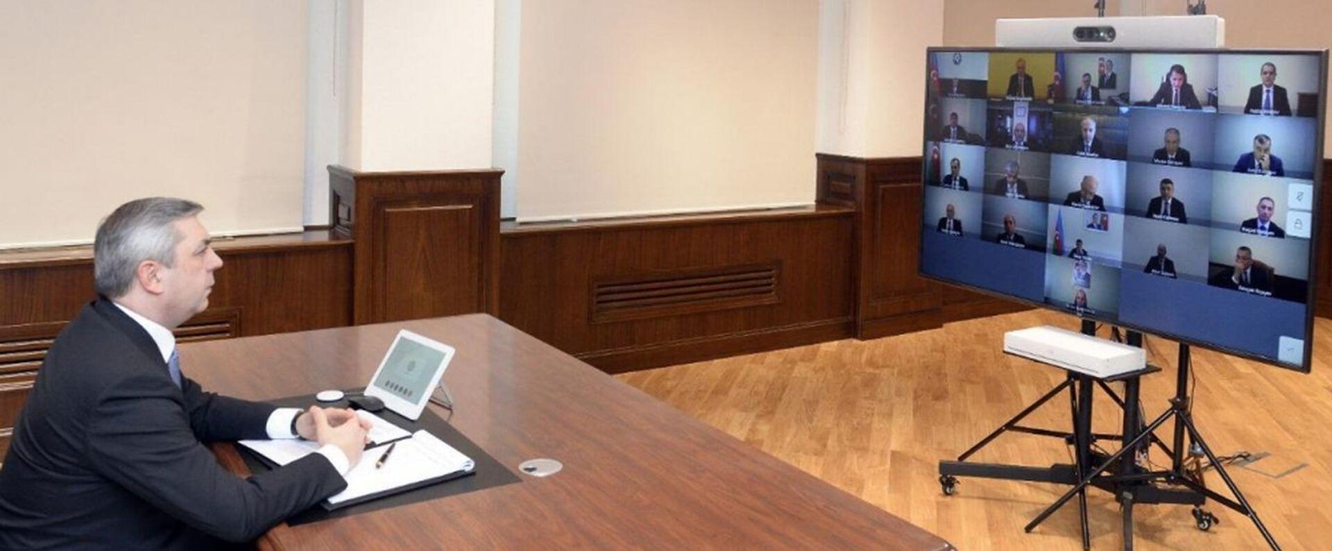 Прошло очередное заседание Координационного штаба по освобожденным территориям - Sputnik Азербайджан, 1920, 03.03.2021