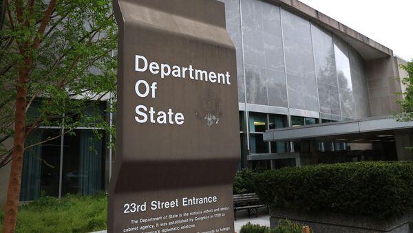Государственный департамент США в Вашингтоне - Sputnik Азербайджан