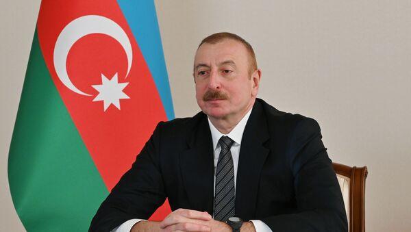 Президент Ильхам Алиев выступил на онлайн Саммите Организации экономического сотрудничества - Sputnik Азербайджан