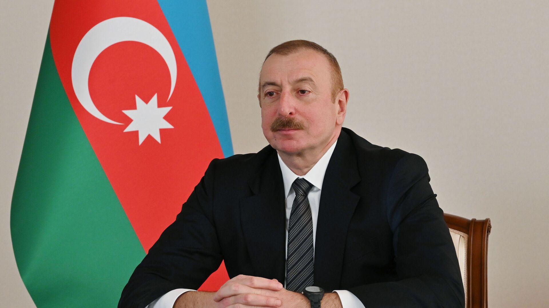 Президент Ильхам Алиев выступил на онлайн Саммите Организации экономического сотрудничества - Sputnik Azərbaycan, 1920, 22.09.2021