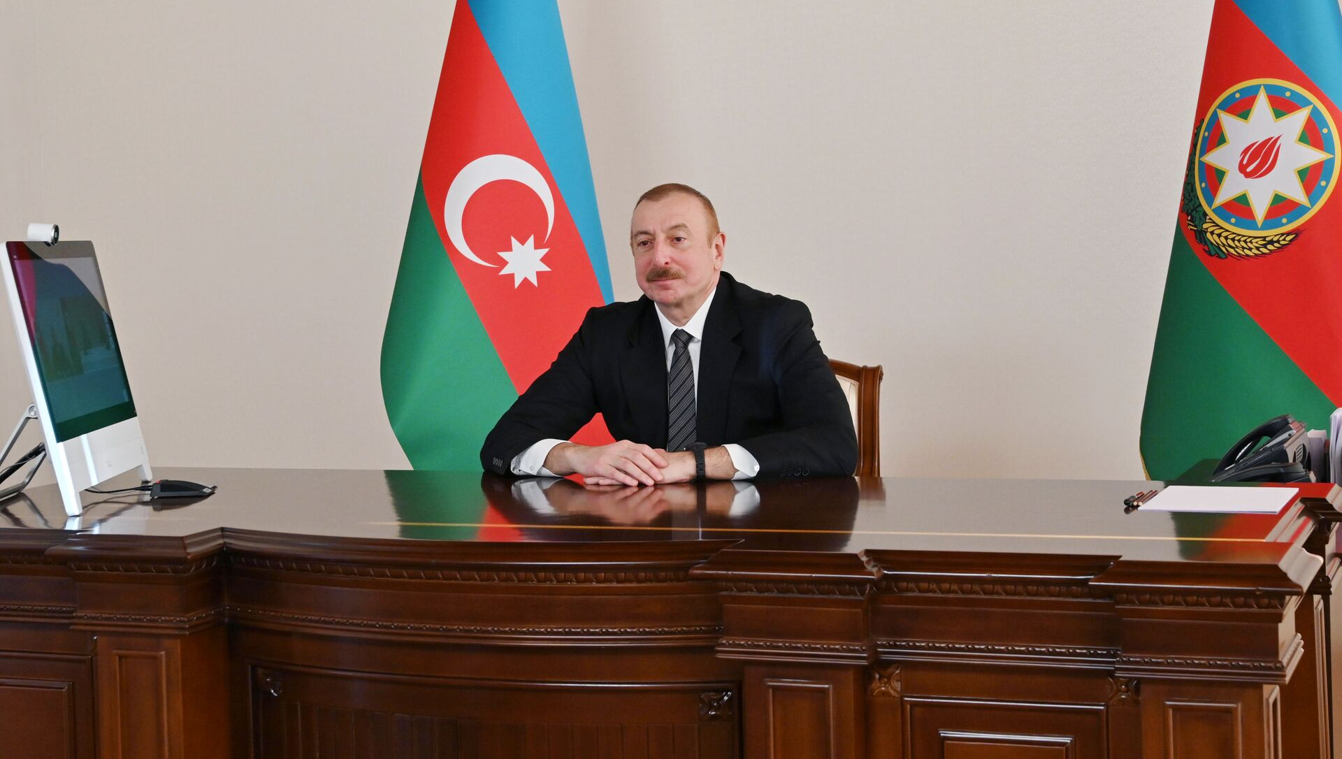 Президент Ильхам Алиев выступил на онлайн Саммите Организации экономического сотрудничества - Sputnik Azərbaycan, 1920, 04.09.2021