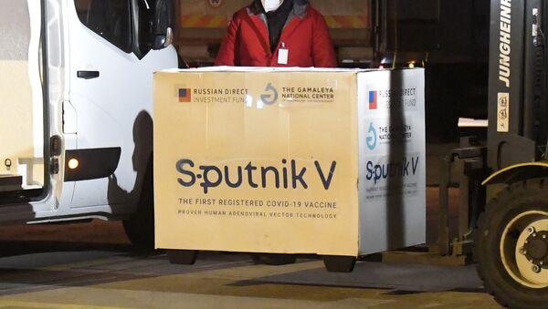 Вакцина Sputnik V, фото из архива - Sputnik Азербайджан
