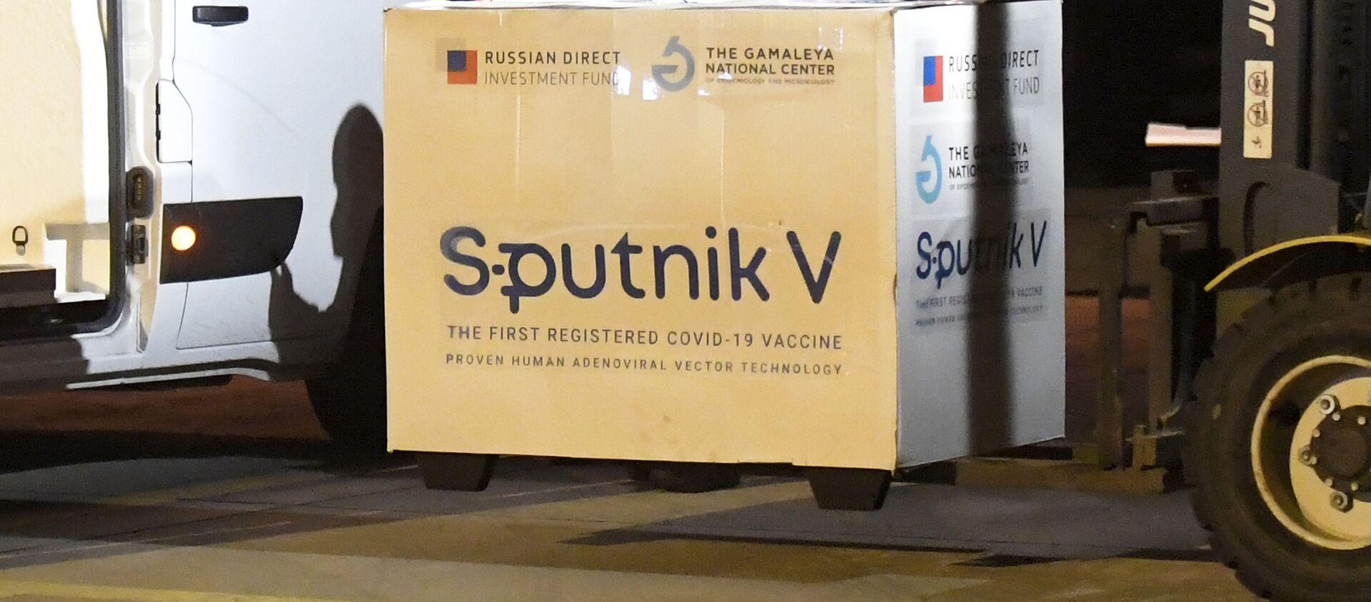 Вакцина Sputnik V, фото из архива - Sputnik Азербайджан, 1920, 12.03.2021