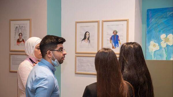 Выставка работ художника Вусала Рагима «Не забывай меня!» (Məni unutma!)  - Sputnik Азербайджан