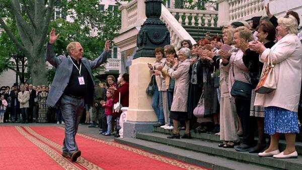 Актёр Владимир Гостюхин на открытии XXVI Международного Кинофорума Золотой Витязь в Севастополе - Sputnik Азербайджан