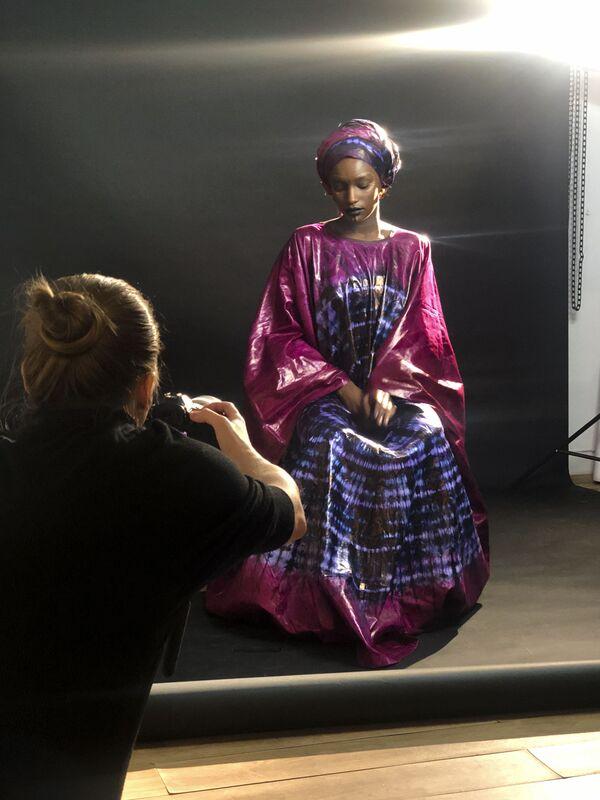 За кулисами съемки проекта The Ethnic Origins of Beauty - Sputnik Азербайджан