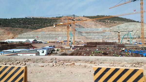 Начало строительства третьего блока АЭС Аккую в Турции - Sputnik Азербайджан