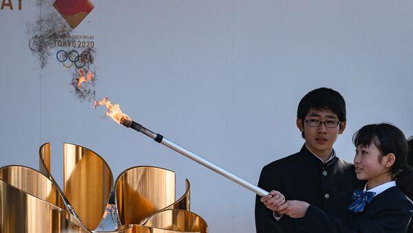 Олимпийские игры в Токио пройдут без иностранных зрителей - Sputnik Азербайджан
