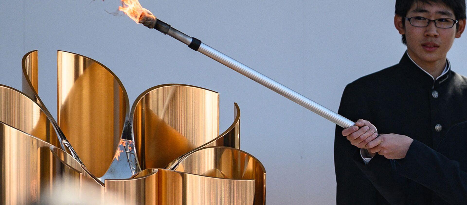 Олимпийские игры в Токио пройдут без иностранных зрителей - Sputnik Азербайджан, 1920, 11.03.2021