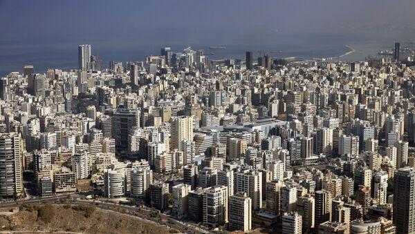 Вид на Бейрут, фото из архива - Sputnik Azərbaycan