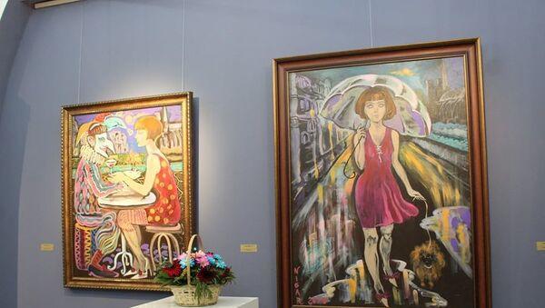 Выставка азербайджанской художницы Нигяр Нариманбековой - Sputnik Азербайджан