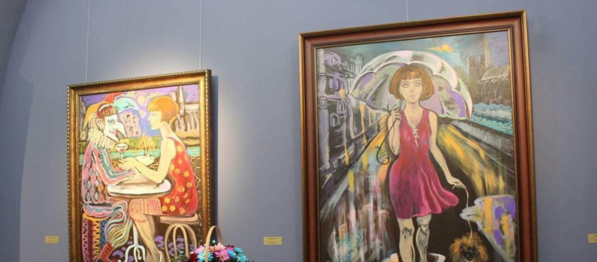 Выставка азербайджанской художницы Нигяр Нариманбековой - Sputnik Азербайджан, 1920, 12.03.2021
