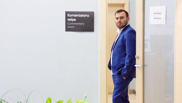 Азербайджанский гроссмейстер Шахрияр Мамедъяров, фото из архива - Sputnik Азербайджан