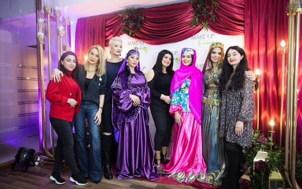 Проект Make-Up Academy Семь красавиц Азербайджана - Sputnik Азербайджан