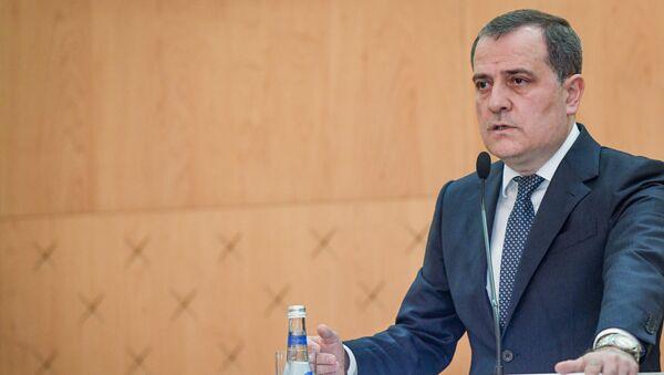Министр иностранных дел Азербайджана Джейхун Байрамов  - Sputnik Azərbaycan