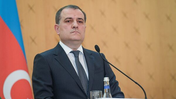 Министр иностранных дел Азербайджана Джейхун Байрамов  - Sputnik Азербайджан