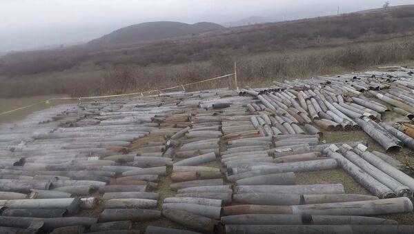 Разминирование освобожденных территорий Азербайджана - Sputnik Азербайджан