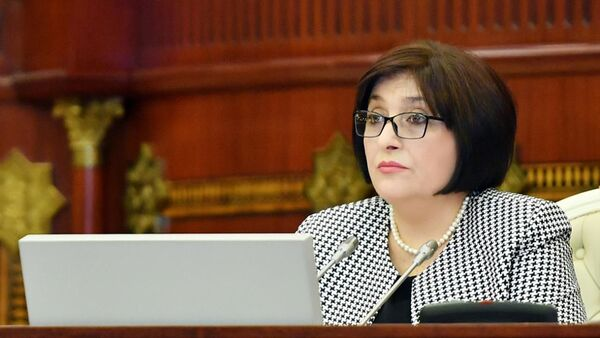 Председатель Милли Меджлиса АР Сахиба Гафарова - Sputnik Азербайджан