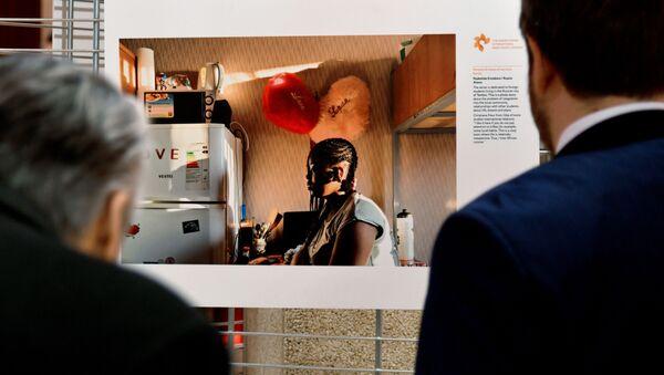 Выставка конкурса им. А. Стенина в Страсбурге - Sputnik Азербайджан