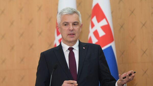 Министр иностранных и европейских дел Словакии Иван Корчок - Sputnik Азербайджан