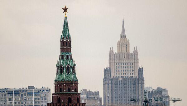 Здание Министерства иностранных дел Российской Федерации, фото из архива - Sputnik Azərbaycan