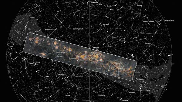 Финский астрофотограф представил панораму Млечного Пути  - Sputnik Азербайджан
