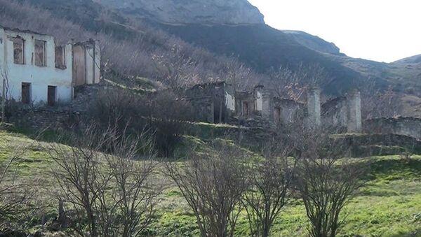 Yuxarı Mollu kəndində - Sputnik Азербайджан