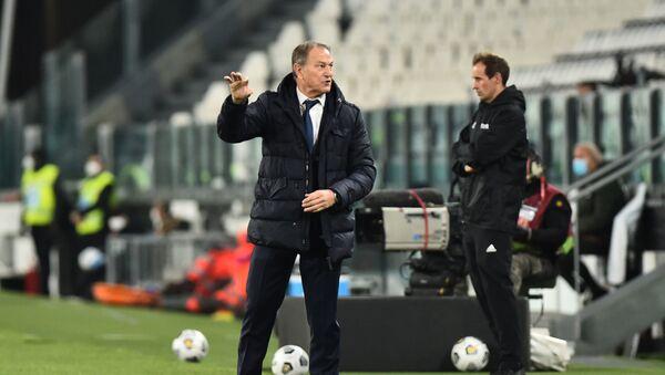 Главный тренер сборной Азербайджана по футболу Джанни Де Бьязи - Sputnik Азербайджан
