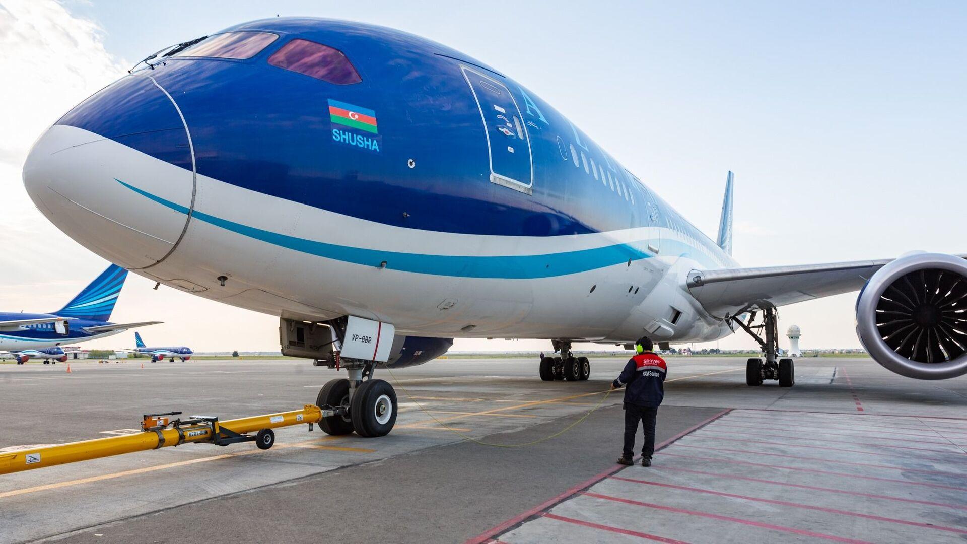 Şuşanın adını daşıyan Boeing 787 Dreamliner təyyarəsi - Sputnik Azərbaycan, 1920, 14.10.2021