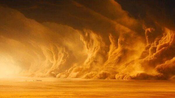 Monqolustanda dəhşətli qum fırtınası baş verdi - Sputnik Azərbaycan