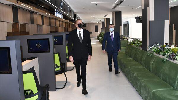Prezident İlham Əliyev açılışda iştirak edib - Sputnik Азербайджан