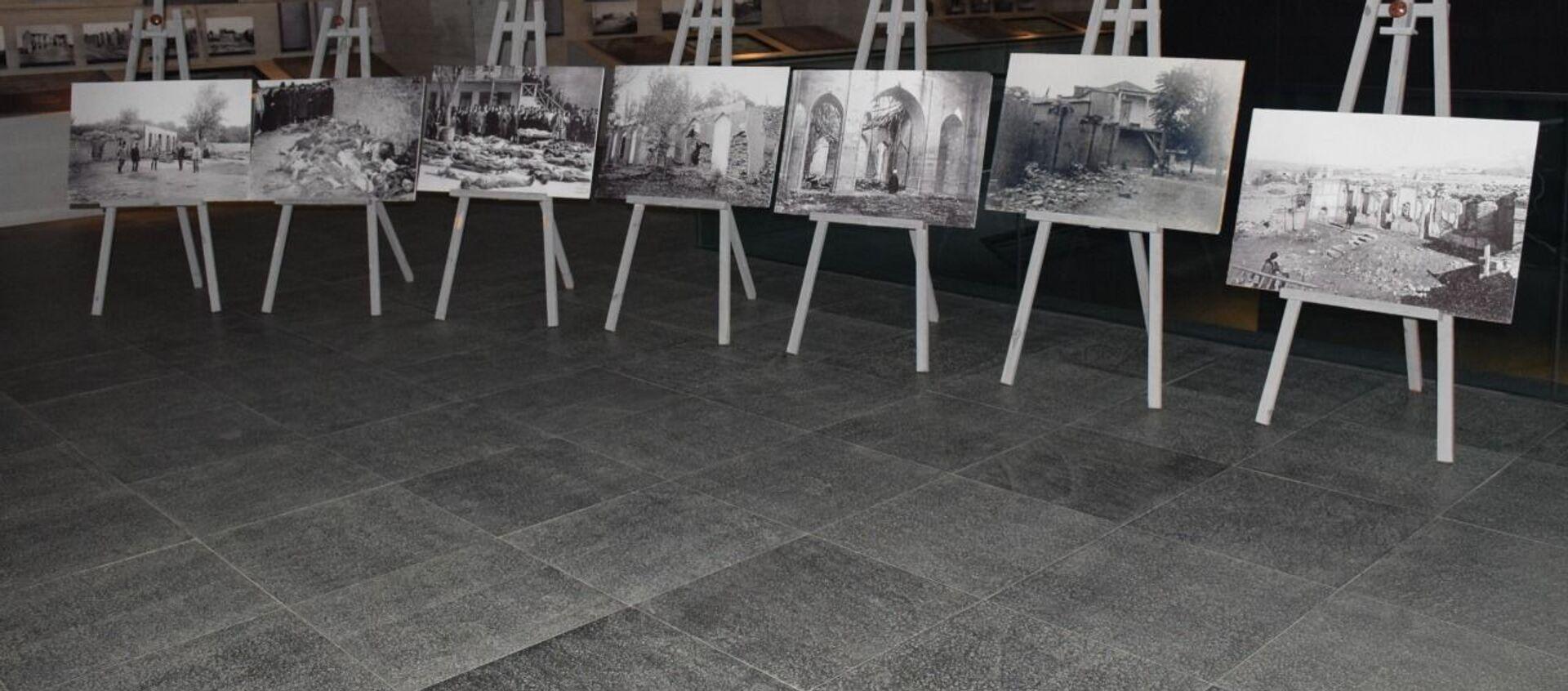 31 mart Azərbaycanlıların Soyqırımı Günü - Anım mərasimi - Sputnik Азербайджан, 1920, 31.03.2021