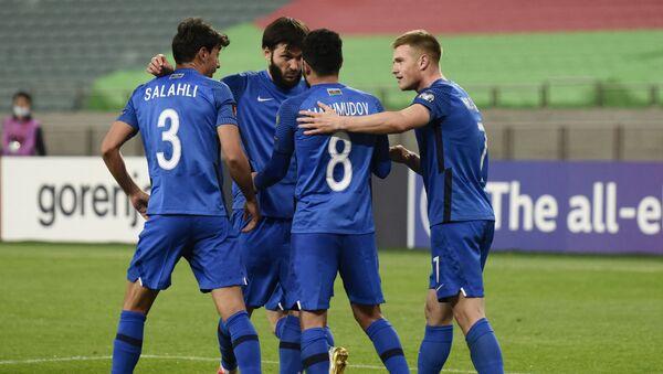 Футболисты сборной Азербайджана, фото из архива - Sputnik Азербайджан