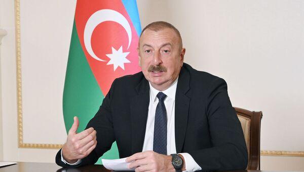 Azərbaycan Prezidenti Zirvə görüşündə - Sputnik Azərbaycan