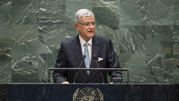 Председатель Генеральной Ассамблеи ООН Волкан Бозкыр, фото из архива - Sputnik Азербайджан