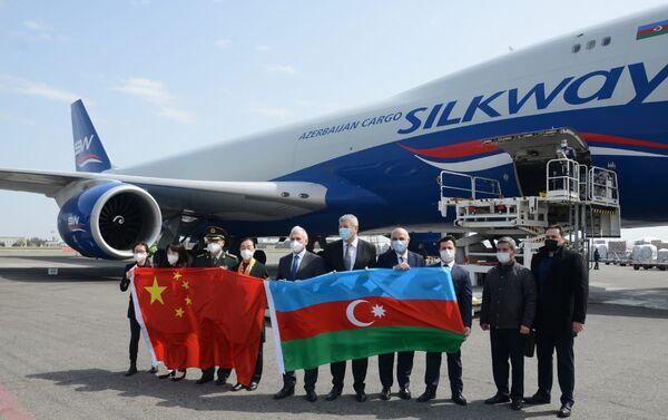 Новая партия вакцины CoronaVac производства китайской компании Sinovac доставлена сегодня в Азербайджан - Sputnik Азербайджан