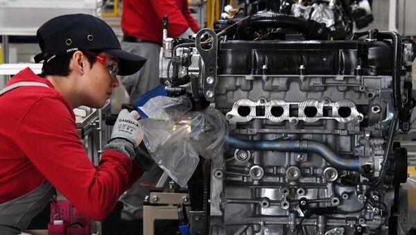 Завод по производству двигателей  - Sputnik Азербайджан