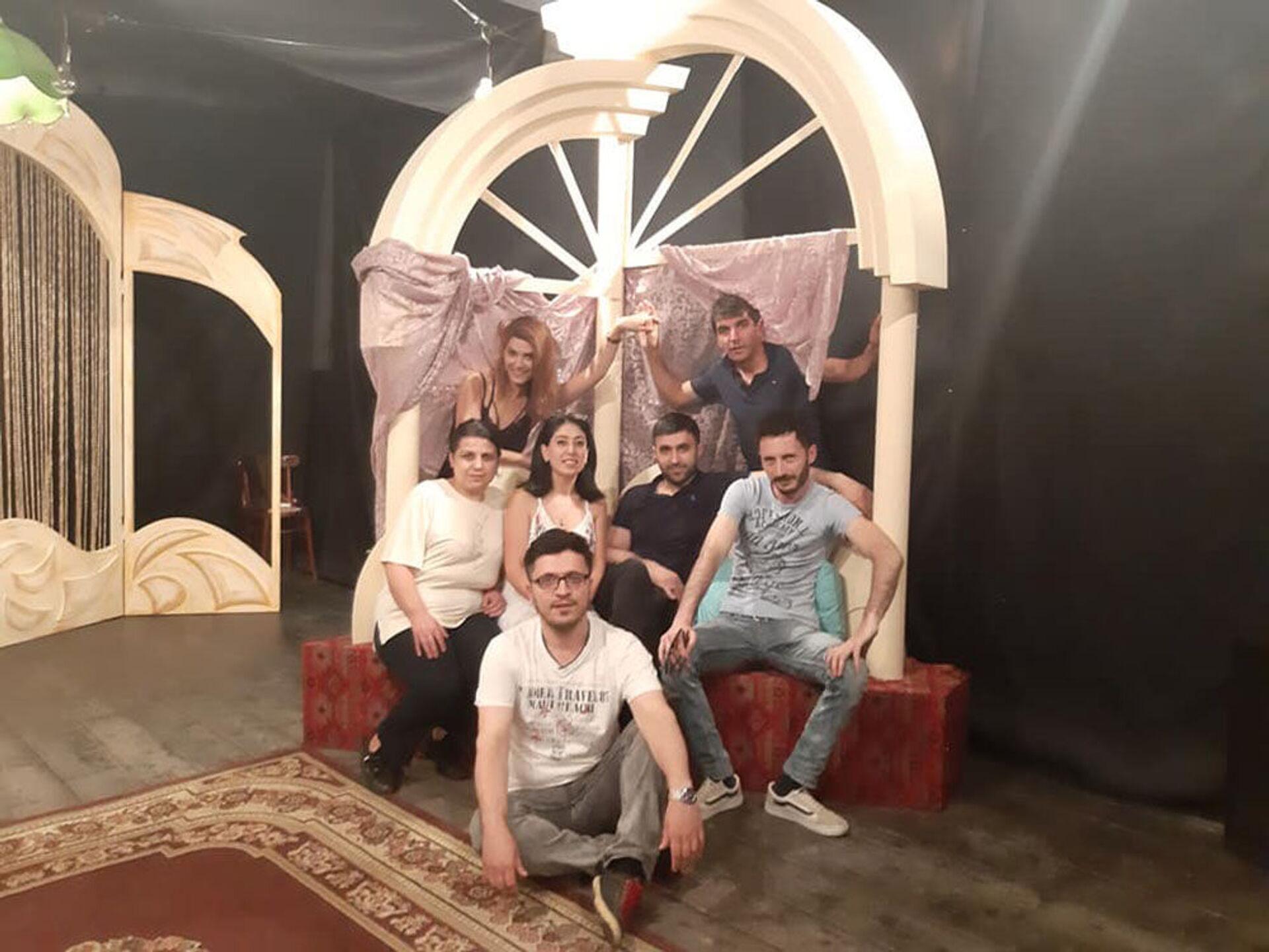 Азербайджанский театр в Грузии вновь приглашает зрителей и готовится к премьерам - Sputnik Азербайджан, 1920, 04.04.2021