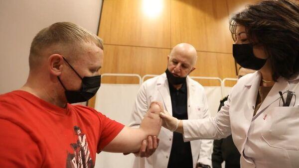 Оценка инвалидности раненых в боях военнослужащих  - Sputnik Азербайджан