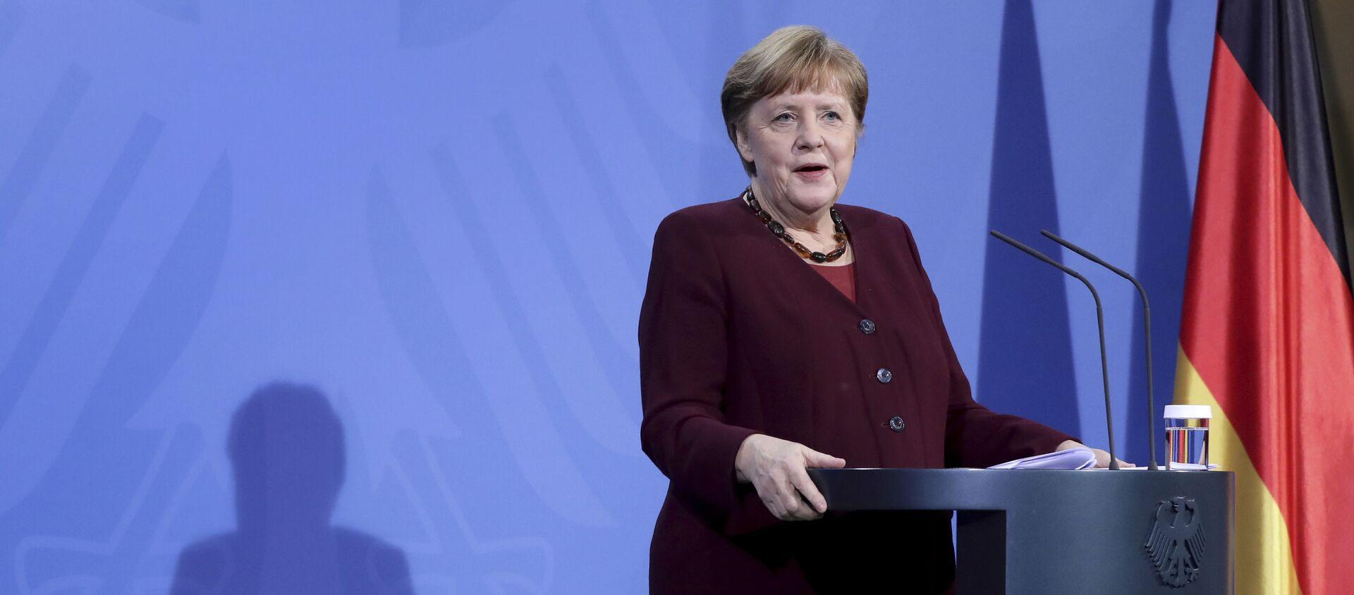 Канцлер Германии Ангела Меркель, фото из архива - Sputnik Азербайджан, 1920, 14.04.2021