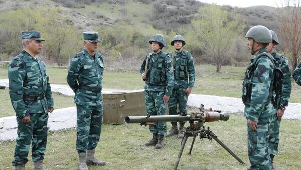 Qubadlıda növbəti hərbi hissə xidməti-döyüş fəaliyyətinə başlayıb - Sputnik Азербайджан