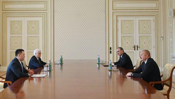 Prezident İlham Əliyev Rusiya Federasiyasının Baş prokurorunu qəbul edib - Sputnik Азербайджан