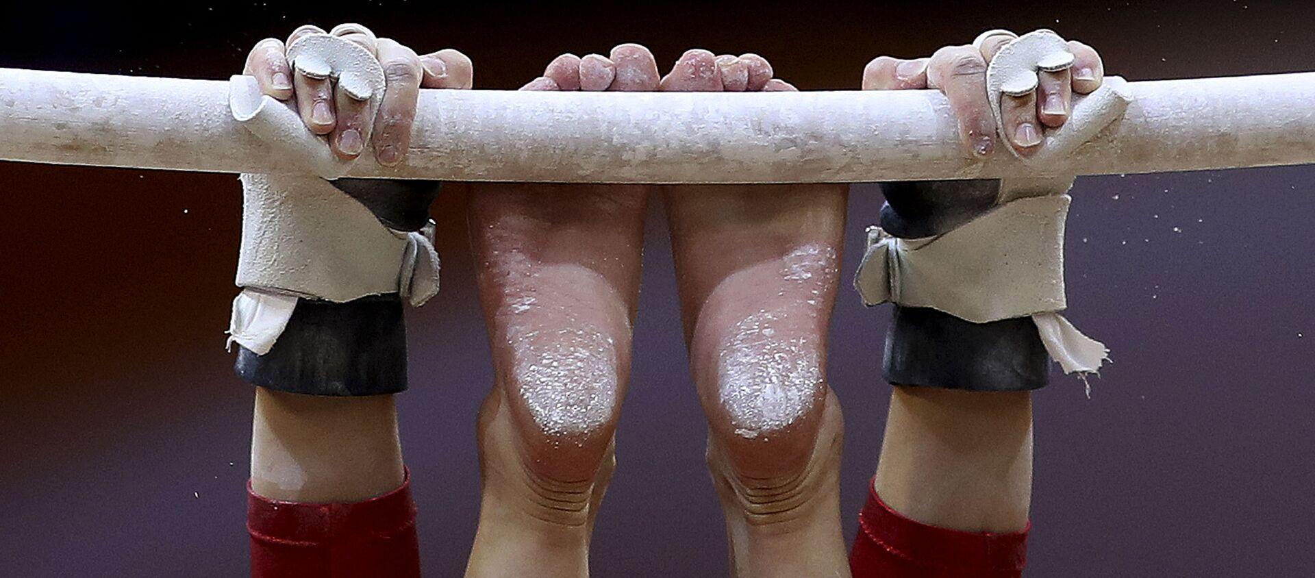 Спортивная гимнастика, фото из архива - Sputnik Азербайджан, 1920, 10.04.2021