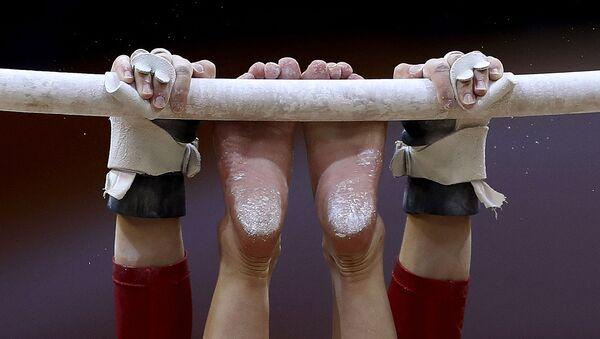 Спортивная гимнастика, фото из архива - Sputnik Азербайджан