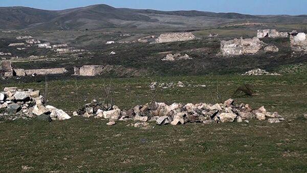 Видеокадры из села Ашагы Рефединли - Sputnik Азербайджан